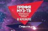 Премия МУЗ-ТВ 2015. Номинанты и победители в Кремле
