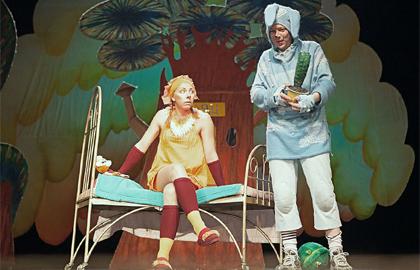 Спектакль «Клочки по закоулочкам»,  14 апреля 2019г.