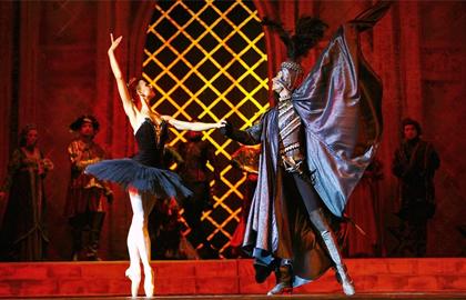 "Рецензия на балет ""Лебединое озеро"""