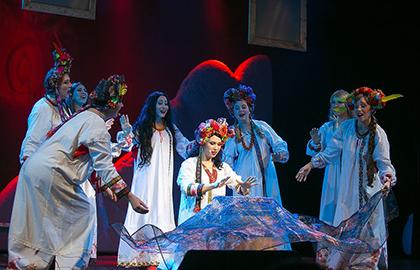 Ночь перед рождеством театр русской песни купить билет сергей любавин афиша концертов